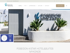 Poseidon Hotel & Suites - Hôtel 3 * - Axioti, Mykonos Ville - Cyclades