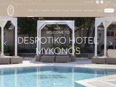 Despotiko Hotel - Hôtel 3 * - Despotika - Mykonos Ville - Cyclades