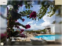 Rhenia Hotel & Bungalows - Hôtel 3 * - Tourlos - Mykonos - Cyclades