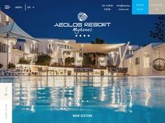 Aeolos Hôtel - Hôtel 2 * - Argyrena - Mykonos - Cyclades