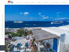 Madalena Hôtel - Hôtel 2 * - Ville de Mykonos - Cyclades