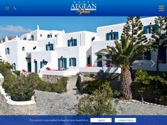 Aegean Hotel - Hôtel 2 * - Tagou - Mykonos - Cyclades
