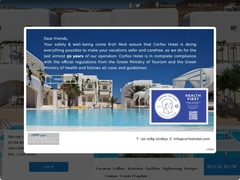 Corfos Hotel - Hôtel 2 * - Ornos - Mykonos - Cyclades