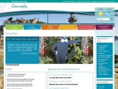 Site officiel de la mairie de Cancale, Ille-et-Vilaine, Bretagne