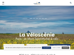 La Véloscénie : itinéraire cyclable de Paris au Mont-Saint-Michel