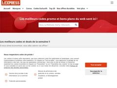L''Express : Codes promo