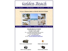 Golden Beach Studios - Hôtel 2 Clés - Ornos - Mykonos - Cyclades