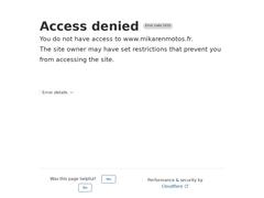 Mikaren Motos - Garage moto - Bourgueil - Entretien...