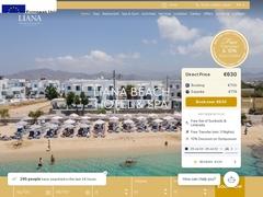 Liana Hotel & Spa - Ξενοδοχείο 3 * - Άγιος Προκόπιος - Νάξος