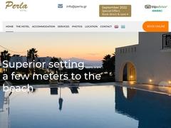 Perla Hotel - 2 * Hotel - Agios Prokopios - Naxos - Cyclades