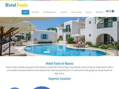 Fanis Hotel - 2 * Hotel - Agia Anna - Naxos - Cyclades