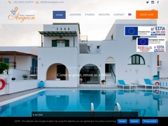 Aegeon Hotel Apartments - 2 * Hotel - Agios Georgios - Naxos