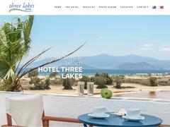 Three Lakes Hotel - 2 * Hotel - Agios Prokopios - Naxos - Cyclades