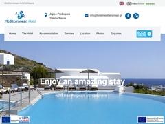 Mediterranean - Ξενοδοχείο 3 * - Στελίδα - Νάξος - Κυκλάδες