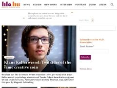 Hungarian Literature Online : zoom sur la littérature hongroise