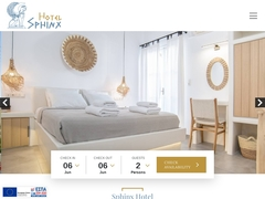 Sphinx - 2 * Hotel - Court Square - City of Naxos - Cyclades