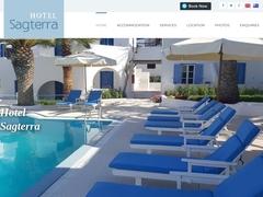 Sagterra - 2 * Hotel - Kotti - city of Naxos - Cyclades