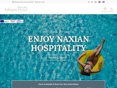Villa Adriana - Hôtel 1 * - Agios Prokopios - Naxos - Cyclades