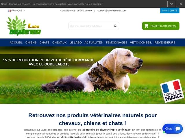 Labo Demeter : anti inflammatoire chien
