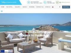 Kymata - 2 * Hotel - Agios Georgios - Naxos - Cyclades