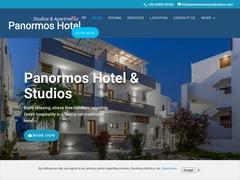 Panormos - 1 * Hotel - Agios Georgios - Naxos - Cyclades