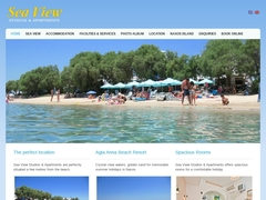 Sea View Studios - 1 Keys Hotel - Agia Anna - Naxos - Cyclades