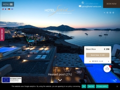 Senia 1 * Classified Hotel - Naoussa - Paros - Cyclades