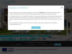 Aquamarina Resort Ξενοδοχείο 4 * - Νέα Χρυσή Ακτή - Πάρος - Κυκλάδες