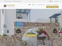 Villa Klery Studios - Νάουσα - Πάρος - Κυκλάδες