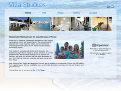 Villa Studios - Λογαράς - Πίσω Λιβάδι - Πάρος - Κυκλάδες