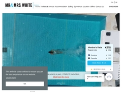 Mr & Mrs White - Ξενοδοχείο 4 * - Αγ.Γεώργιος - Νάουσα - Πάρος