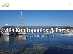 Villa Konitopoulos - Hotel 3 Clés - Alyki - Paros - Cyclades