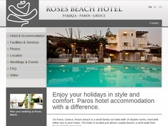 Roses Beach - Hotel 2 Clés - Krotiri - Paros - Cyclades