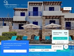 San Antonio - Hotel 2 * - Krotiri - Paros - Cyclades