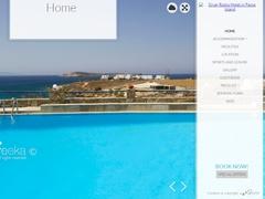 Silver Rocks - Hotel 2 * - Chryssi Akti - Paros - Cyclades