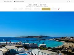 Atlantida - Ξενοδοχείο 2 * - Κουφονήσι - Μικρές Κυκλάδες