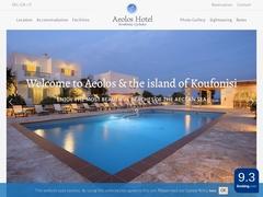 Aeolos - Ξενοδοχείο 3 * - Κουφονήσι - Μικρές Κυκλάδες