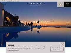 Carpe Diem - 3 Keys Hotel - Pyrgos - Kallistis - Santorini - Cyclades