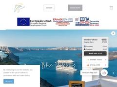 Blue Dolphins Apartments - 4 Keys Hotel - Firostefani - Santorini