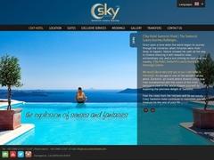 CSky Hotel 4 Keys - Imerovigli - Santorini - Cyclades
