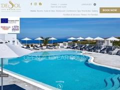 De Sol Hotel - 3 Keys Hotel - Messaria - Fira - Santorini - Cyclades