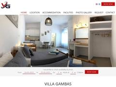 Villa Gambas - Καμάρι - Σαντορίνη - Κυκλάδες
