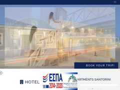 Erato Apartments, 4 Keys Hotel, Firostefani, Santorini, Cyclades