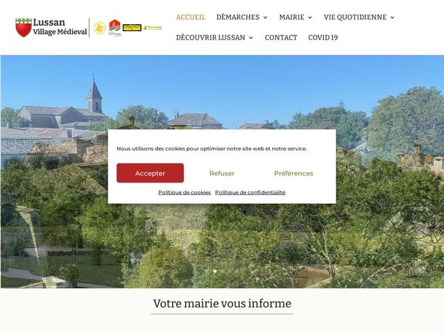 Mairie de Lussan Gard