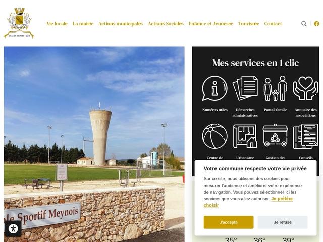 Mairie de Meynes Gard