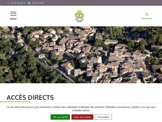 Mairie de Saussines Gard