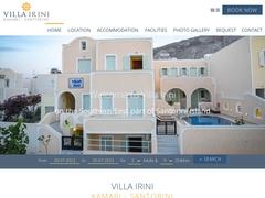 Villa Irini Apartments - Καμάρι - Σαντορίνη - Κυκλάδες