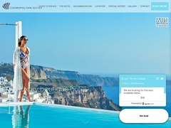 Cosmopolitan Suites - Hôtel 4 Clés - Fira - Santorini - Cyclades