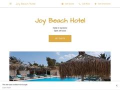 Joy Beach - 3 Keys Hotel - Perivolos - Santorini - Cyclades