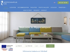 Hippocampus Hotel - 3 * Hotel - Kamari - Santorini - Cyclades